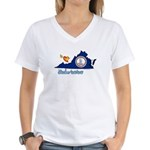 ILY Virginia Women's V-Neck T-Shirt