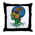 GOLDFISH OF MY MIND Throw Pillow