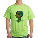 GOLDFISH OF MY MIND Green T-Shirt