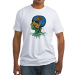GOLDFISH OF MY MIND Fitted T-Shirt