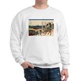 Hokusai Senju Musashi Province Sweatshirt
