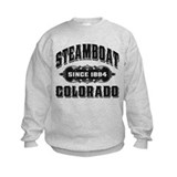 Steamboat Since 1884 Black Sweatshirt