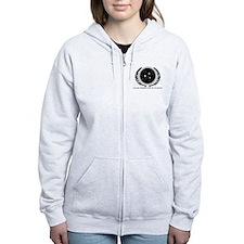 Federation Seal (mono) Zip Hoodie