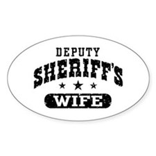 Deputy Sheriff's Wife Decal