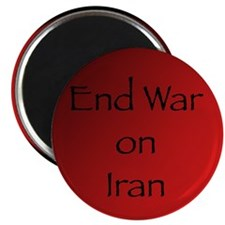 End War on Iran Magnet