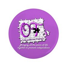 "Cute Otr 3.5"" Button"