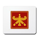 Cyrus the Great Persian Standard Flag Mousepad