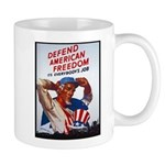 Defend American Freedom Mug