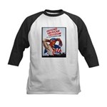 Defend American Freedom Kids Baseball Jersey