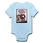 Defend American Freedom Infant Creeper