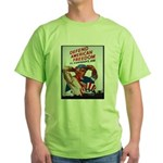 Defend American Freedom Green T-Shirt