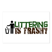 Littering is Trashy Postcards (Package of 8)