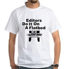 Editors Do it on a Flatbed Shirt