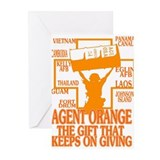 AGENT ORANGE BARRELL Greeting Cards (Pk of 10)