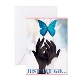 JUST LET GO Greeting Cards (Pk of 20)