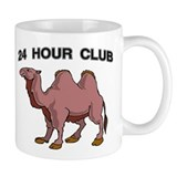 24 HOUR CLUB Small Mugs