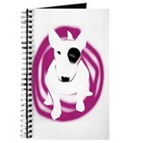 English Bull Terrier dog Journal