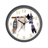 """Peace Pipe"" Wall Clock"