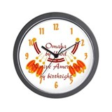 """Omaha"" Wall Clock"