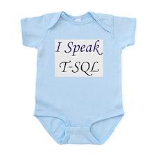"""""""I Speak T-SQL"""" Infant Creeper"""