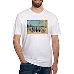 Hokusai Sazai Hall Fitted T-Shirt