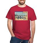 Hokusai Sazai Hall Dark T-Shirt