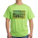 Hokusai Sazai Hall Green T-Shirt