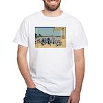 Hokusai Sazai Hall White T-Shirt