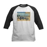Hokusai Sazai Hall Kids Baseball Jersey