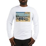 Hokusai Sazai Hall Long Sleeve T-Shirt
