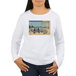 Hokusai Sazai Hall Women's Long Sleeve T-Shirt