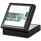 """Psychopaths and Mystery Writ Keepsake Box"