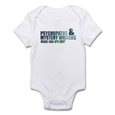 """Psychopaths and Mystery Writ Onesie"