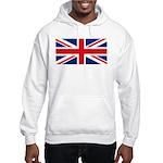 UK Flag Hooded Sweatshirt