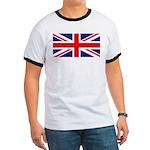 UK Flag Ringer T