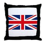 UK Flag Throw Pillow
