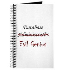 """DB Evil Genius"" Journal"