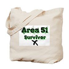 AREA 51 SURVIVOR Tote Bag
