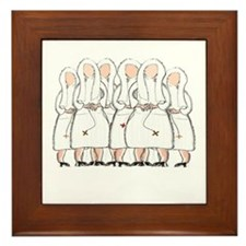 Nuns Jubilee Gifts II Framed Tile