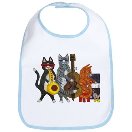 Jazz Cats Bib