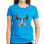 Whitetail deer,tag out Women's Dark T-Shirt