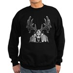 Whitetail deer,tag out Sweatshirt (dark)