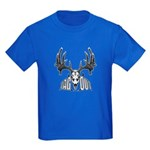 Whitetail deer,tag out Kids Dark T-Shirt