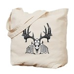 Whitetail deer,tag out Tote Bag