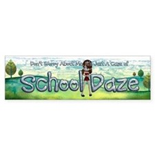 School Daze Bumper Sticker