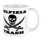 Oil Field Trash,Skull Mug