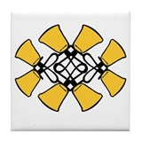 Twined Bells Tile Coaster