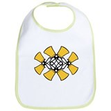 Twined Bells Bib