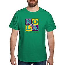 BearBlock New Orleans (Royal Court Colors) T-Shirt