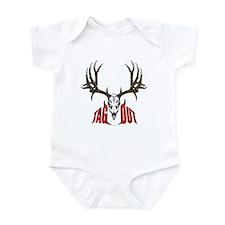 Mule deer tag out Infant Bodysuit